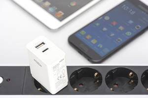 ednet Universal USB Charging Adapter, USB Type-C™